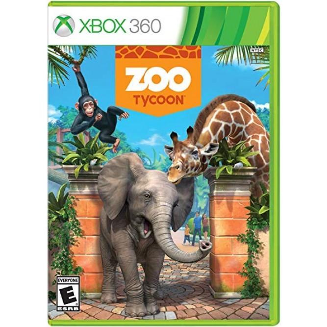 Игра Zoo Tycoon (поддержка Kinect) (Xbox 360) б/у