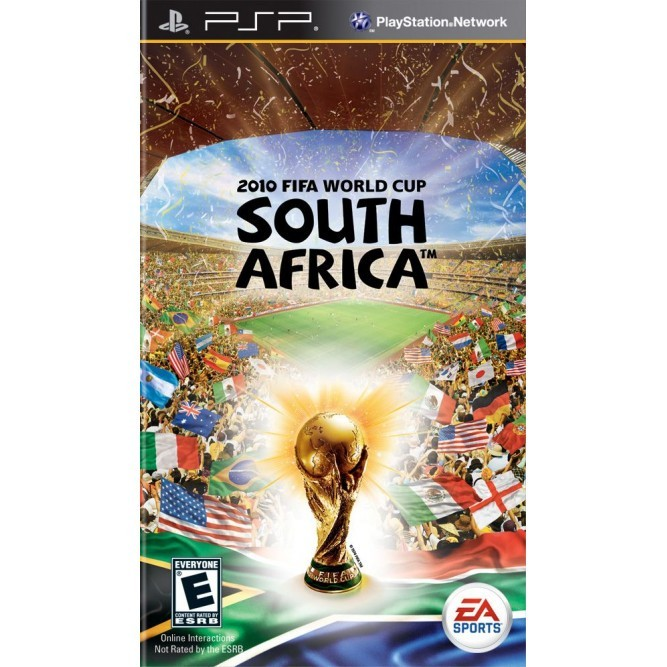 Игра FIFA World Cup 10 South Africa (PSP) б/у