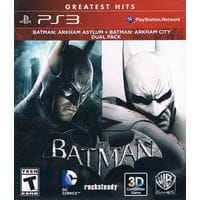 Игра Batman: Arkham Asylum + Batman: Arkham City (Dual Pack) (PS3) б/у