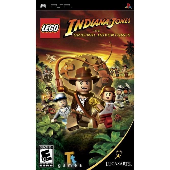 Игра LEGO Indiana Jones: The Original Adventures (PSP) б/у (eng)