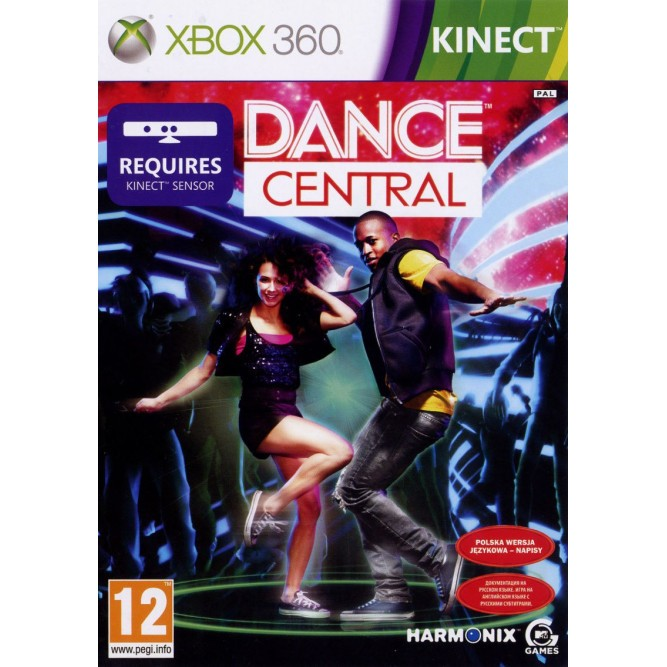 Игра Kinect Dance Central (Только для Kinect) (Xbox 360) б/у