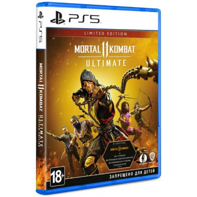 Игра Mortal Kombat 11 Ultimate. Limited Edition (PS5) (rus sub)