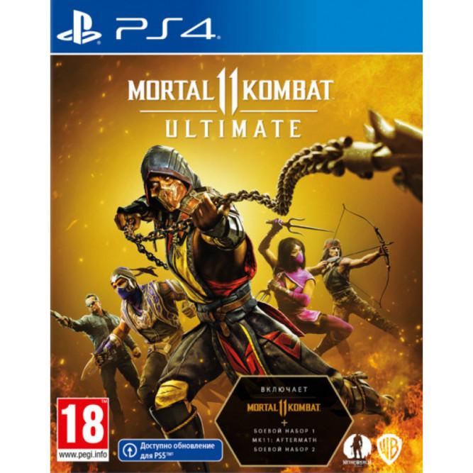 Игра Mortal Kombat 11 Ultimate (PS4) (rus sub)