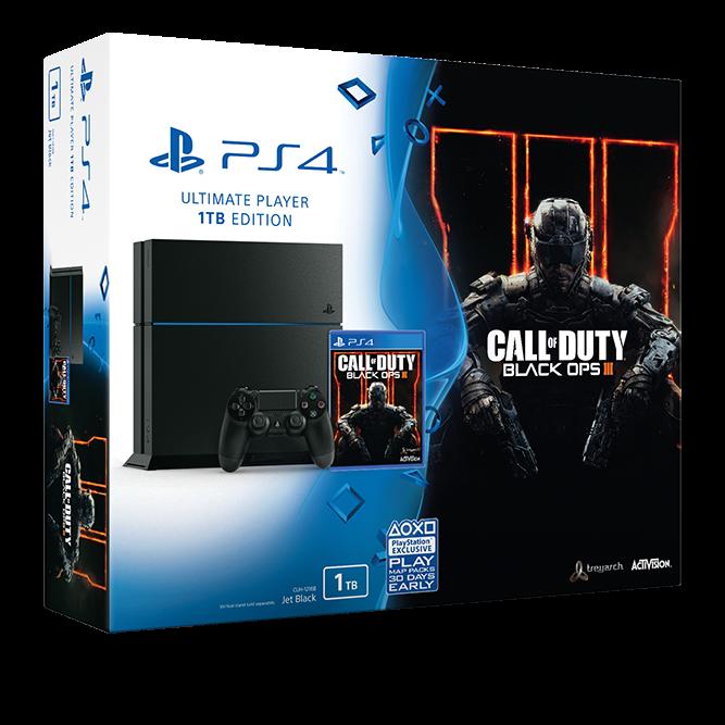 PlayStation 4 1TB Call of Duty: Black Ops 3 Bundle