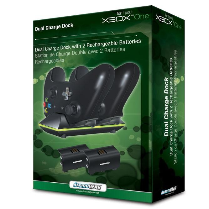 Xbox One Dual Charge Dock (зарядная станция на два геймпада) б/у