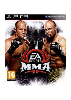 EA sports MMA (PS3) б/у