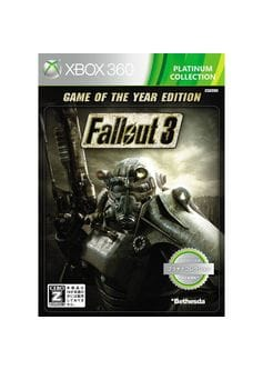 fallout 3 game of the year edition (Xbox 360) б/у