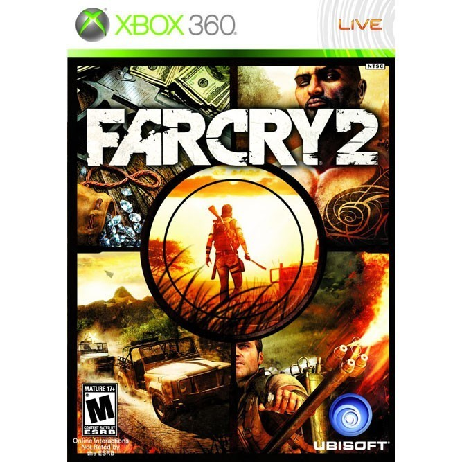 Far cry 2 (Xbox 360) б/у