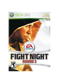 EA Sports fight night round 3 (Xbox 360) б/у