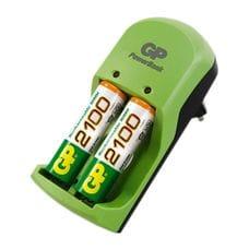 Зарядное устройство + 2 пальчиковых аккумулятора