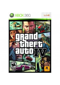 GTA IV (Grand Theft Auto 4) (Xbox 360)
