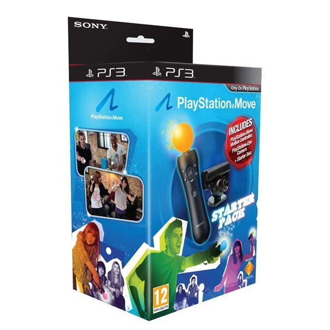 Playstation Move + камера (Starter Pack) б/у