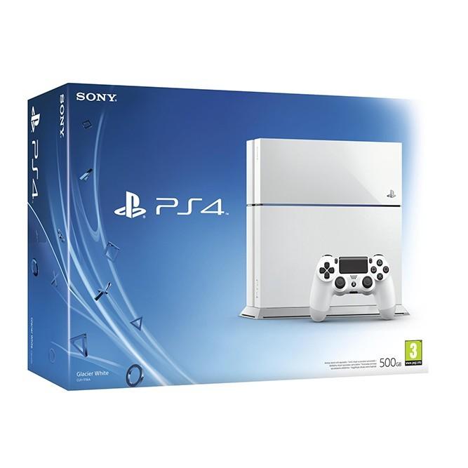 Приставка Sony PlayStation 4 (500 Гб), белая б/у