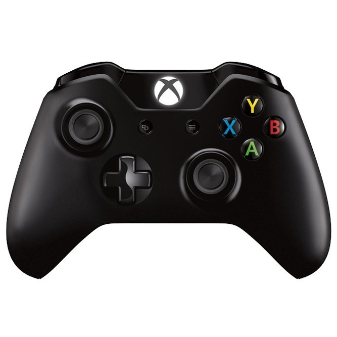Геймпад Microsoft Controller for Xbox One черный