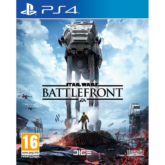 Star wars: Battlefront (PS4) б/у