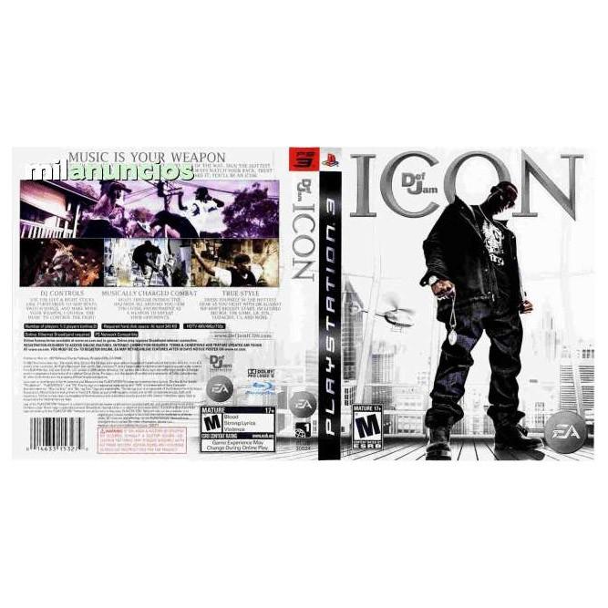 Def Jam: Icon (PS3) б/у