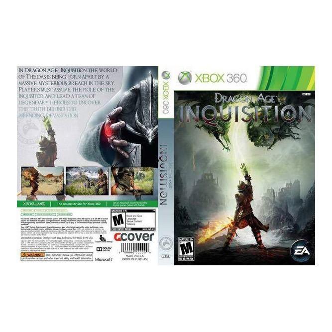 Dragon Age Инквизиция (Xbox 360) б/у