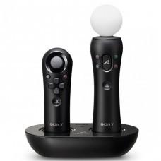 Зарядная станция PS Move на 2 контроллера