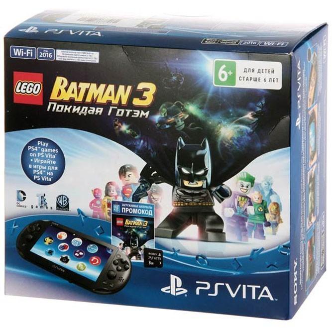 Консоль PS Vita Wi-Fi с игрой Lego Batman 3