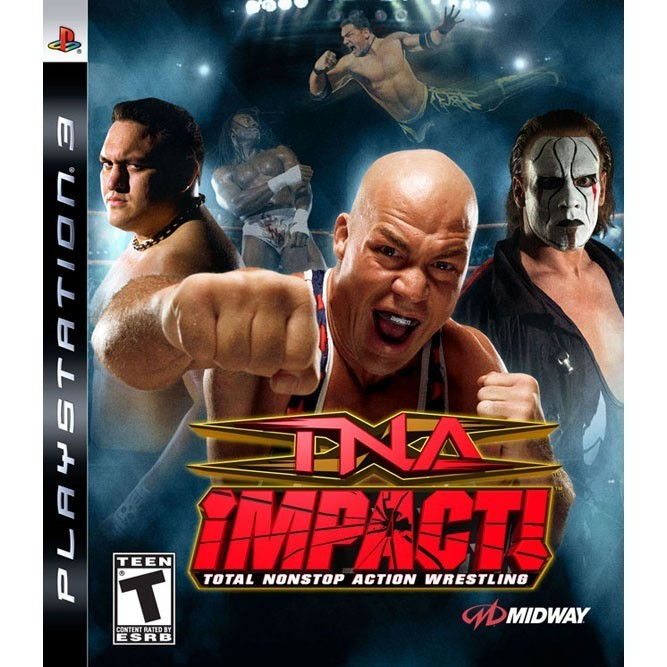 TNA Impact! Total Nonstop Action Wrestling (PS3) б/у