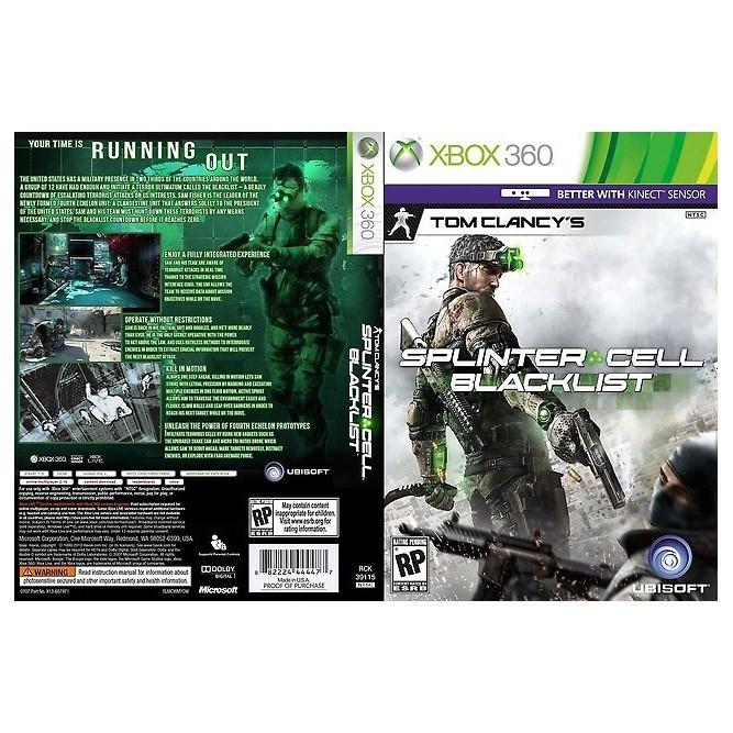Tom Clancy's: Splinter Cell Blacklist (Xbox 360) б/у