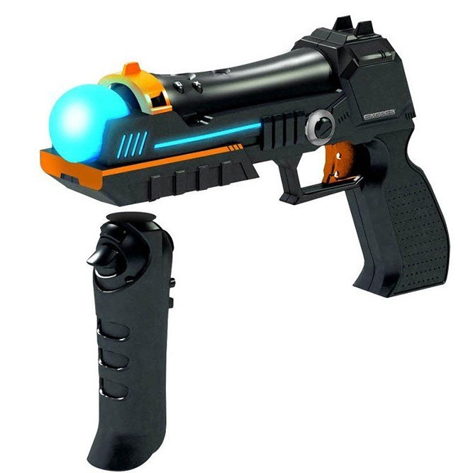 Пистолет Move Gun Attachment с прикладом (PS3, Move)