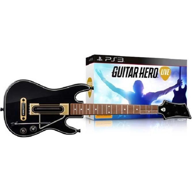 Контроллер-гитара для игры Guitar Hero (PS3) б/у