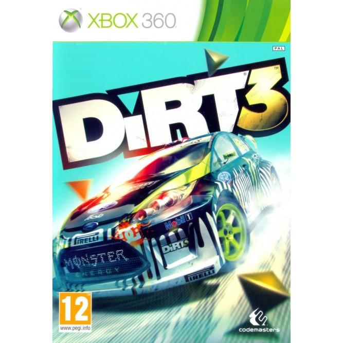 Игра Dirt 3 (Xbox 360) (rus) б/у