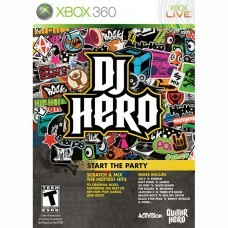 DJ HERO (Xbox 360) б/у