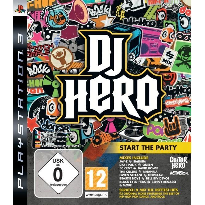DJ HERO (PS3) б/у