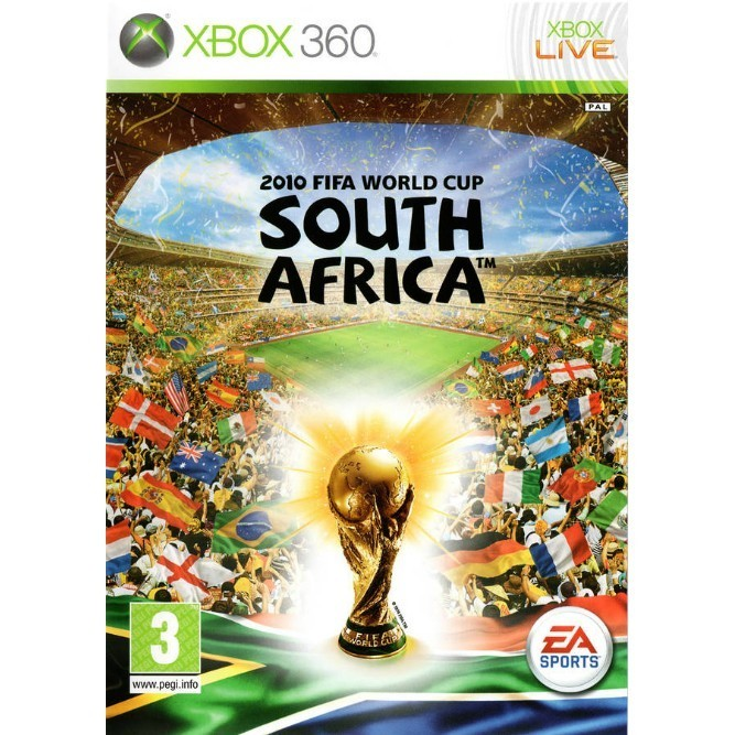 FIFA word cup 2010 africa (Xbox 360) б/у