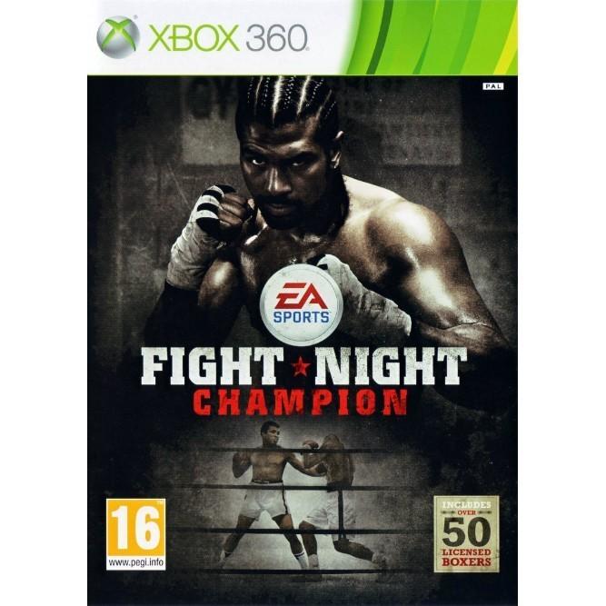 Fight Night Round champion (Xbox 360) б/у