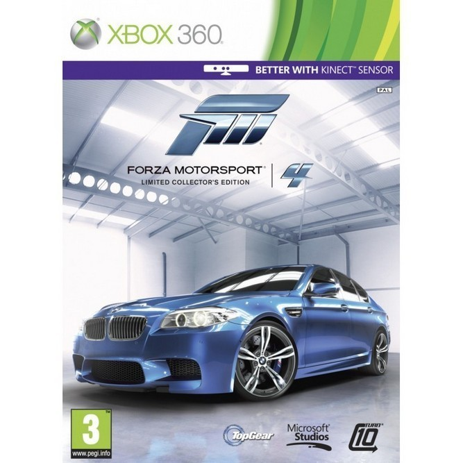 Forza Motorsport 4 Limited Collector's Edition (Xbox 360) б/у