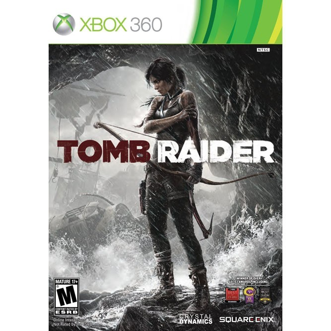 Карточка игры Tomb Raider для Xbox 360
