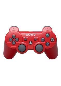 Красный геймпад DualShock 3 для PS3