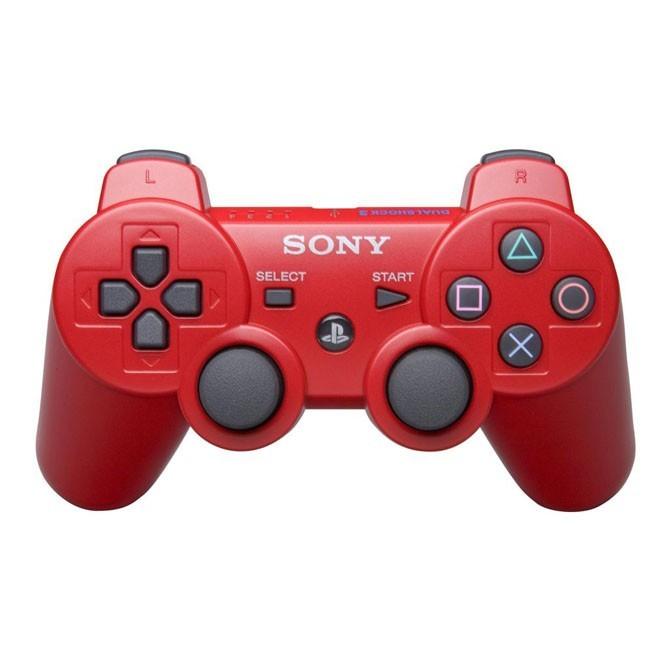 Геймпад DualShock 3 для PS3 (красный)