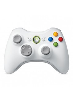 Геймпад Microsoft Controller, беспроводной (Xbox 360), белый, б/у