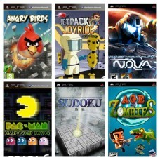 Игры на PSP в ассортименте, б/у