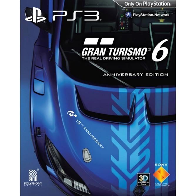 Gran Turismo 6 юбилейное издание (PS3) б/у