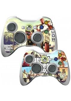 Наклейка GTA на геймпад Xbox 360