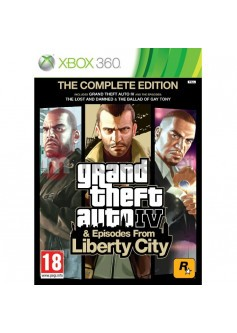 GTA Episodes from liberty city (Xbox 360) б/у