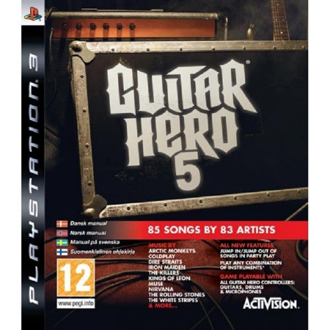 Guitar Hero 5 (PS3) б/у