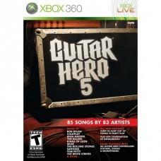 Guitar Hero 5 (Xbox 360) б/у