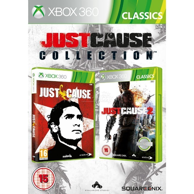 Just Cause collection (Xbox 360) б/у