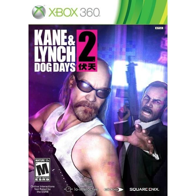 Kane & Lynch 2: Dog Days (Xbox 360) б/у