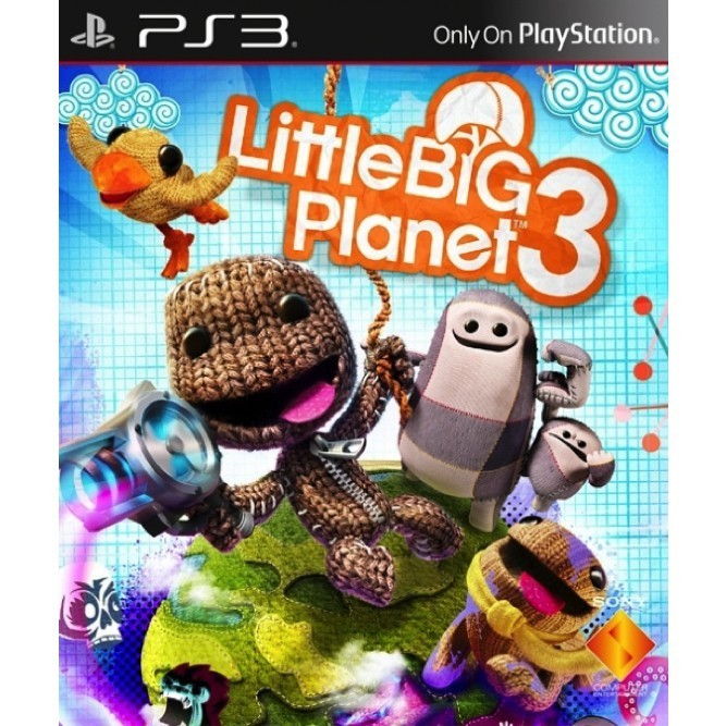 Little Big Planet 3 (PS3) б/у