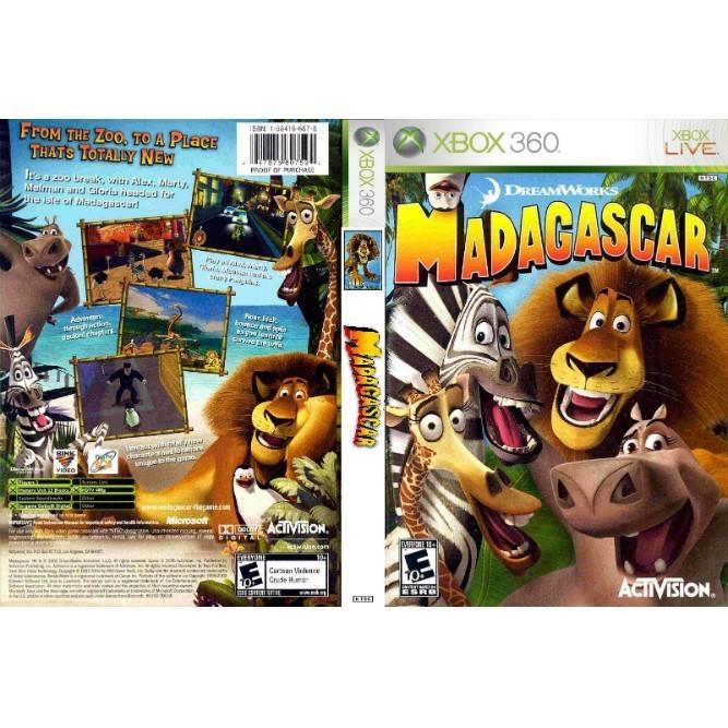 Madagascar (Xbox 360) б/у