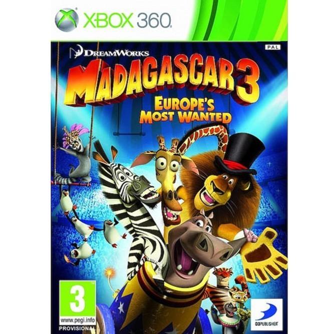 Мадагаскар 3 (Xbox 360)