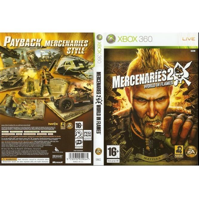 Mercenaries 2: World in Flames (Xbox 360) б/у