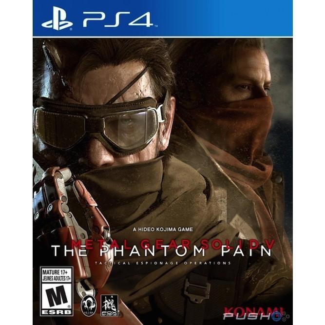 Metal gear solid V the phantom pain (PS4)